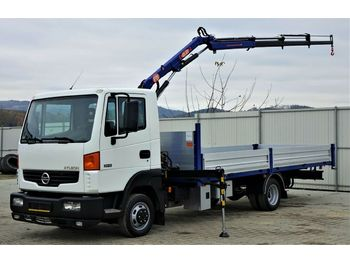 Nissan ATLEON 35.15 Pritsche 5,45m+KRAN* Topzustand!  - dropside/ flatbed truck