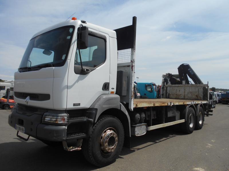 dropside/ flatbed truck Renault Kerax 320