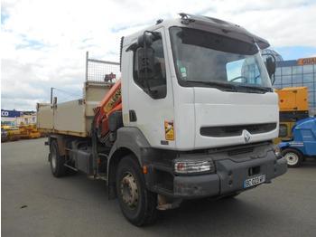 Dropside/ flatbed truck Renault Kerax 370 DCI