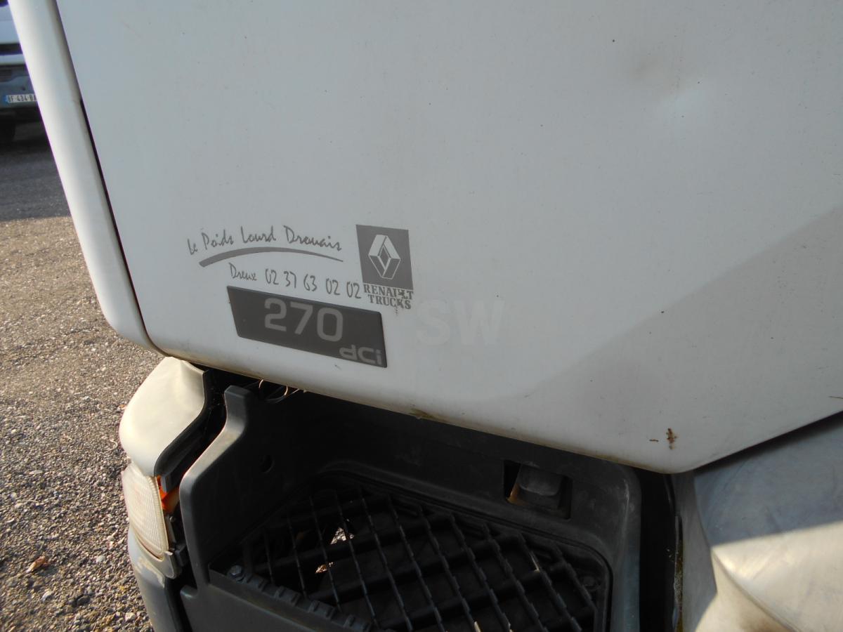 dropside/ flatbed truck Renault Premium 270 DCI
