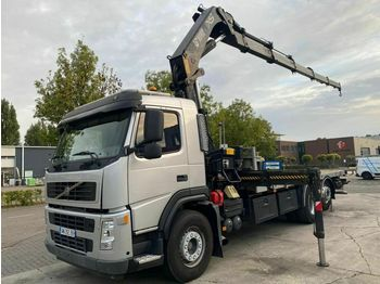 Volvo FM 13-400 6X2 MANUAL + HIAB 377 EP-5 MET REMOTE  - dropside/ flatbed truck