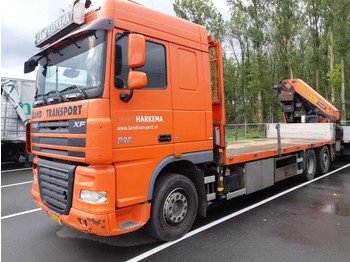 Dropside truck DAF 105 XF 410 SC 6x2 PK 44002: picture 1