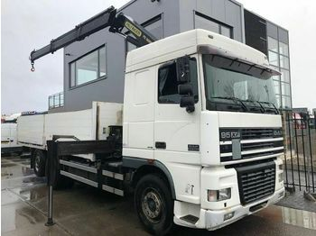 Dropside truck DAF 95XF480 6X2 PALFINGER PK16000 RETARDER: picture 1
