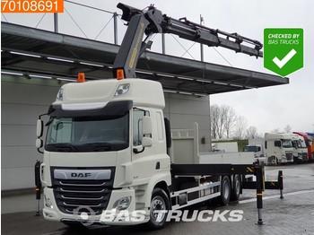 DAF CF 480 6X2 Steering-Axle Euro 6 Palfinger PK41002 EH-E - dropside truck