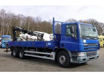 DAF CF 75.310 6x2 Darus Platós - dropside truck