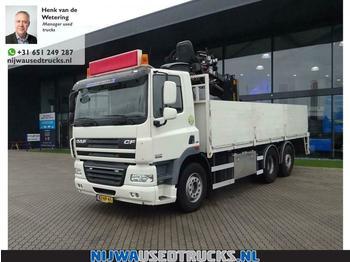 DAF CF 85 360 EEV Hiab 130 R roller Kran  - dropside truck
