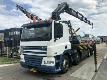 DAF Cf 85-380 8x2 met pk42502-5  - dropside truck