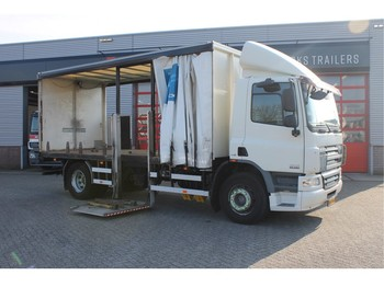 Dropside truck DAF FA 65 250 Chassis Gasflessen Transport euro 5