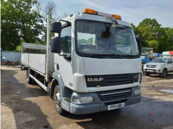 Dropside truck DAF LF 45 160 7.5 ton on board camera tail lift: picture 1