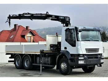 Dropside truck IVECO Strails 360 6x4 Darus Platós