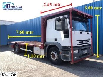 Iveco 190E42 Eurotech, Steel suspension, Manual, Retarder - dropside truck