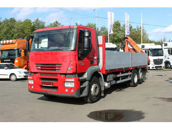 Iveco STRALIS AD 260 S 42 PALFINGER 10 000, 5100mth  - dropside truck