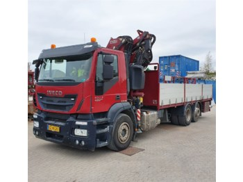 Dropside truck Iveco Stralis 260 - (PS/FS) - Fassi F275A