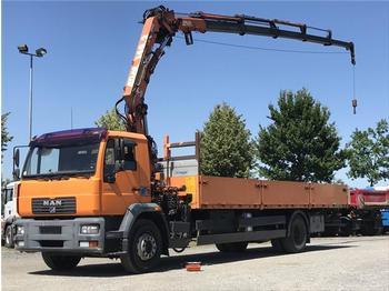 Dropside truck  MAN - LE 18.220 Atlas 140 A 5, Seilwinde, Funk