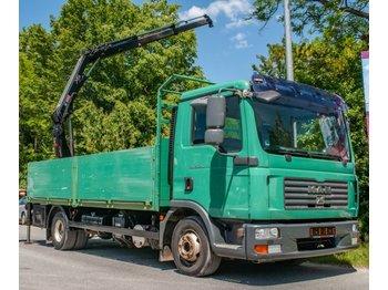 MAN TGL 12.240 4x2 BL Lkw Kipper Hiab Ladekran 088B-2 DUO - شاحنة مفصلية الجوانب