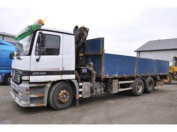 Dropside truck MERCEDES-BENZ 2540DNA