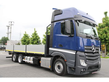 MERCEDES-BENZ ACTROS 2542 BDF LOW DECK MEGA NEW FLATBED BOX - dropside truck