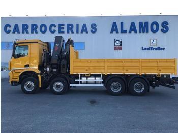 Mercedes Arocs 4140 - شاحنة مفصلية الجوانب