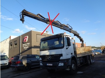 Dropside truck Mercedes-Benz Actros 3341 eps chassis