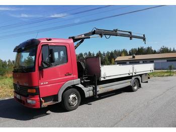 Mercedes-Benz Atego 818  - شاحنة مفصلية الجوانب