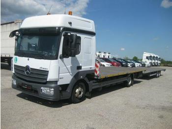 Mercedes-Benz - Atego 821 Plattform ZUG!!! Containertransporter - شاحنة مفصلية الجوانب