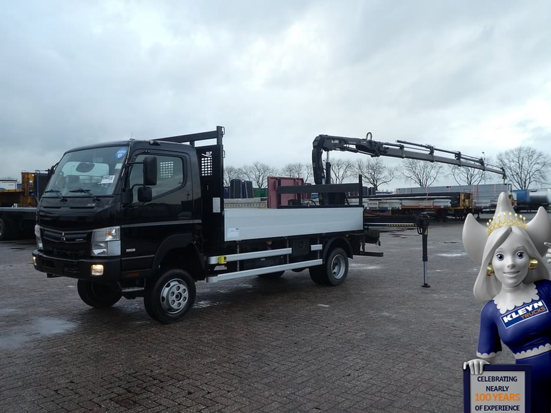 Mitsubishi Canter Fuso 4x4 Hiab 055d 4 Rad Dropside Truck From Netherlands For Sale At Truck1 Id 3371437