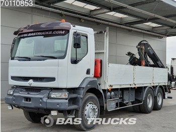 Dropside truck Renault Kerax 370 6X4 Manual Big-Axle Euro 3 Hiab 144B-2 HI DUO