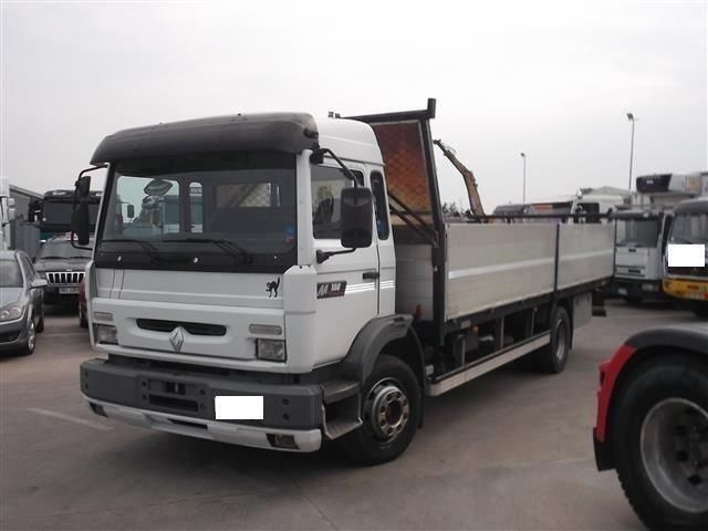 Renault Midliner M180 Dropside Truck From Italy For Sale