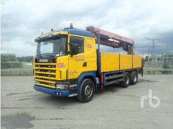 SCANIA G144.460 6x4 - dropside truck