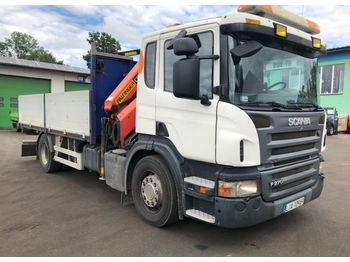 SCANIA P270 - dropside truck