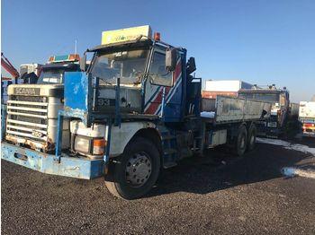 Dropside truck SCANIA T 93 rep. objekt