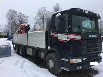 Dropside truck Scania R124.400 - SOON EXPECTED - 6X2 MANUAL FULL STEEL