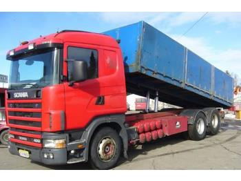 Dropside truck Scania R 124: picture 1