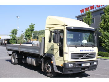 Dropside truck VOLVO FL6 FLATBED BOX: picture 1