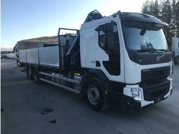 Volvo FE320 - SOON EXPECTED - 6X2 HIAB XS 166 HIPRO EU  - dropside truck