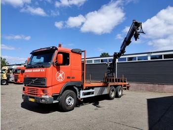 Volvo FH12-380 6x2 Euro2 - Full Steel - 10 tyres - HMF1683K2 - SELF DRIVING BURTEC SYSTEM - شاحنة مفصلية الجوانب