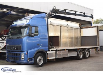 Volvo FH 400 Euro 5, Hiab 099-E3, 6x2, Truckcenter Apeldoorn - شاحنة مفصلية الجوانب