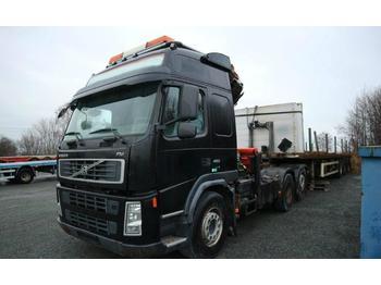 Volvo FM480 crane truck Palfinger PK23002  - شاحنة مفصلية الجوانب