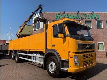 Volvo FM9-340 6X2 VOORZIEN VAN OPEN LAADBAK EN KENNIS 11T/M ROLLER STENENTRANSPORT SUPER STAAT - شاحنة مفصلية الجوانب