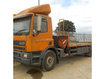 Flatbed truck 1997 DAF 75.270: picture 1