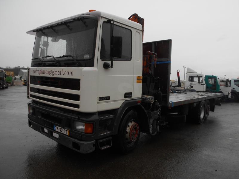 flatbed truck DAF 95 ATI 310