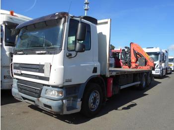 Flatbed truck DAF CF75 310