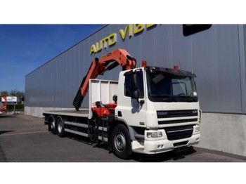 Flatbed truck DAF CF75.310: picture 1