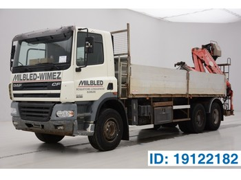 Flatbed truck DAF CF85.380 - 6x4: picture 1