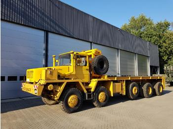 Flatbed truck FAUN HS50