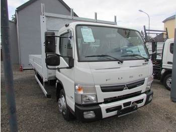 Flatbed truck FUSO Canter 7 C 18 Pritsche