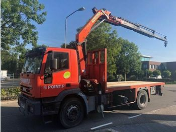 Flatbed truck Iveco 190E27 FULL STEELSPRING AN MANUEL GEARBOX