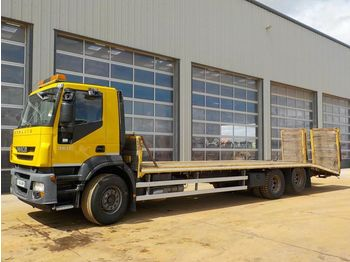 Iveco STRALIS 360 - flatbed truck