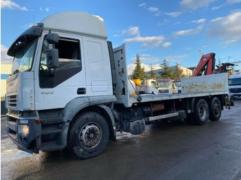 Iveco STRALIS 400  - flatbed truck