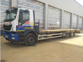 Iveco Stralis - flatbed truck